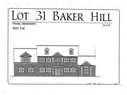 31 Baker Hill Drive  Hingham, MA MLS# 71604431