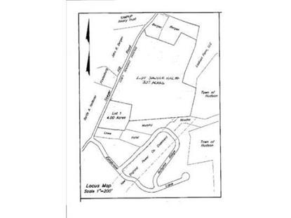 Lot Sawyer Hill Road  Berlin, MA MLS# 71631820