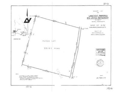 0 Old Gardner Rd  Ashburnham, MA MLS# 71682829