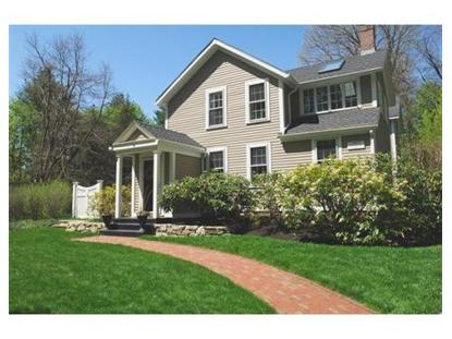 11 Wood St  Concord, MA MLS# 71683287