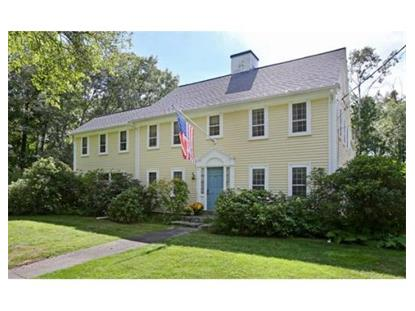 169 Lowell Rd  Concord, MA MLS# 71741250