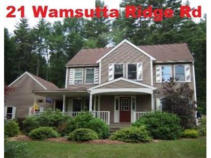 21 Wamsutta Ridge Road  Charlton, MA 01507 MLS# 71797371