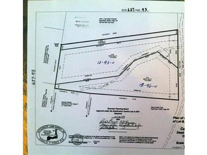 0 Old Red Top Rd  Brewster, MA MLS# 71855722