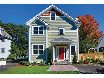243 Crafts St  Newton, MA MLS# 71912369