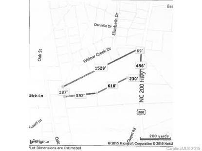 Hwy 200 N Nc Hwy 200 Highway Stanfield, NC MLS# 3076930