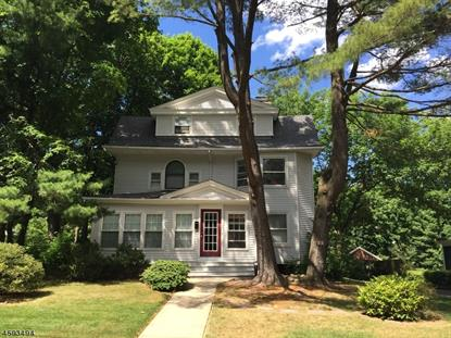 21 CURTIS PLACE  Maplewood, NJ MLS# 3334432
