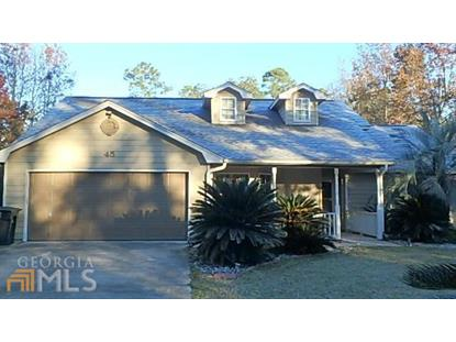 45 Easterly Ct Woodbine, GA MLS# 7463669