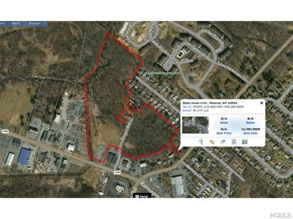 State Route 17m  Monroe, NY MLS# 4519814
