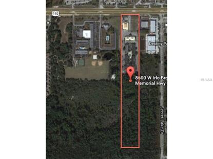 8600 W IRLO BRONSON MEMORIAL  HWY Kissimmee, FL MLS# S4807101