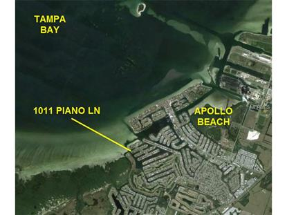 1011 PIANO  LN Apollo Beach, FL MLS# T2707885