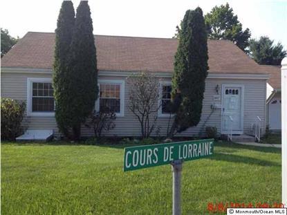 166 Cours De Lorraine  Howell, NJ MLS# 21435857