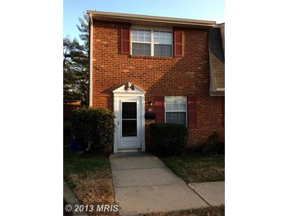 69 HERITAGE CT #37 Annapolis, MD MLS# AA8240784