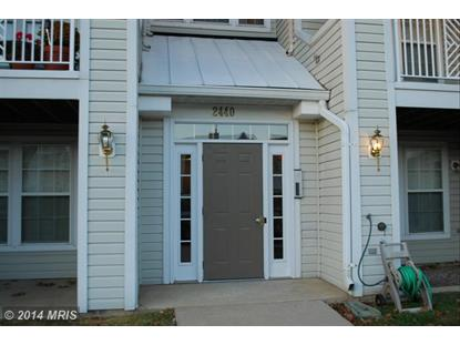 2440 BLUE SPRING CT #203 Odenton, MD MLS# AA8500724