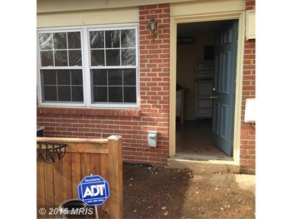 412 HAMMOND PL #7 Annapolis, MD MLS# AA8551200
