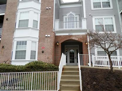 651 BURTONS COVE WAY #6 Annapolis, MD MLS# AA8573194