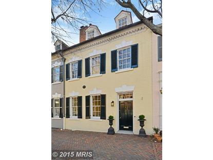 215 ROYAL ST S Alexandria, VA MLS# AX8600119