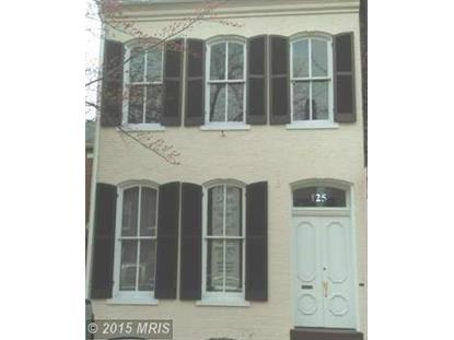 125 SOUTH FAIRFAX ST Alexandria, VA MLS# AX8636633