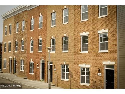 1530 MARSHALL ST Baltimore, MD MLS# BA8371809