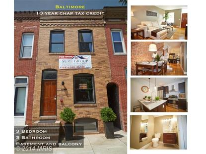 936 EAST AVE Baltimore, MD MLS# BA8415210
