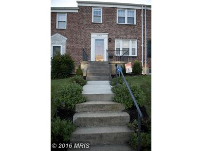 230 MEDWICK GARTH E Baltimore, MD 21228 MLS# BA9792716
