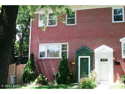 278 BLAKENEY RD Catonsville, MD 21228 MLS# BC8208682
