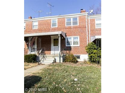 710 EASTSHIRE DR Baltimore, MD 21228 MLS# BC8235164