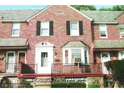 109 SYMINGTON AVE N Catonsville, MD 21228 MLS# BC8404605
