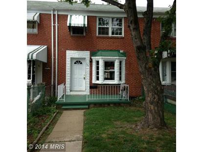 844 ARNCLIFFE RD Essex, MD MLS# BC8416140