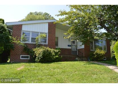 3428 EDCREST RD Windsor Mill, MD MLS# BC8441444