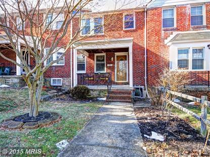 12 PROSPECT AVE S Baltimore, MD 21228 MLS# BC8560849
