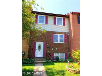 42 PICKERSGILL SQ Owings Mills, MD MLS# BC8713865