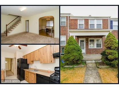 6105 FREDERICK AVE Catonsville, MD 21228 MLS# BC8716888