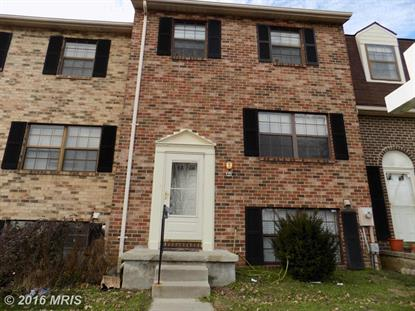 44 CLINTON HILL CT Catonsville, MD 21228 MLS# BC9535535