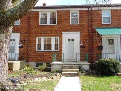419 GREENLOW RD Baltimore, MD 21228 MLS# BC9597206