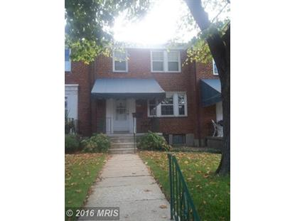 319 STRATFORD RD Baltimore, MD 21228 MLS# BC9665301