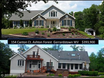 154 CANTON CT Gerrardstown, WV MLS# BE8651451