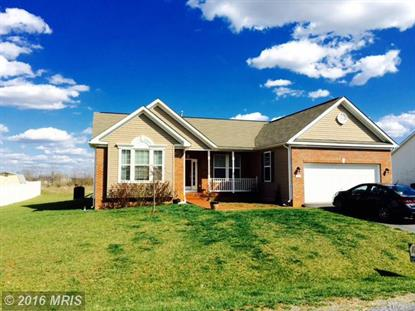 327 CALVERT CIR Bunker Hill, WV MLS# BE9509916