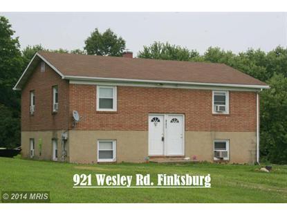 921 WESLEY RD Finksburg, MD MLS# CR8348341