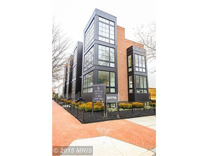 1601 5TH ST NW #D Washington, DC MLS# DC8557875