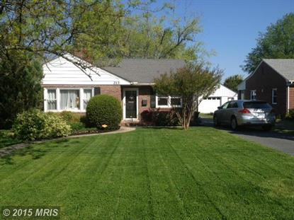 213 SOMERSET AVE Cambridge, MD MLS# DO8646668
