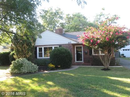 213 SOMERSET AVE Cambridge, MD MLS# DO9770498