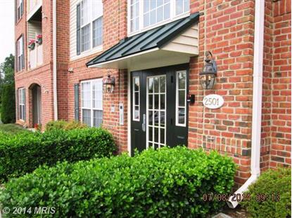 2501 COLERIDGE DR #3-B Frederick, MD MLS# FR8399132