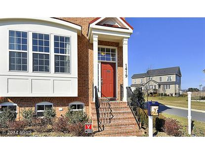 1419 HOPE FARM CT Brunswick, MD MLS# FR8480801