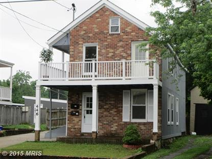 446 W SOUTH ST #1 AND 2 Frederick, MD MLS# FR8661347