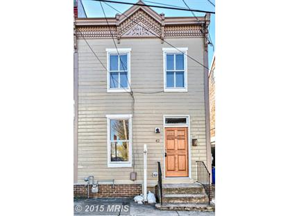 42 SOUTH ST Frederick, MD MLS# FR9507070