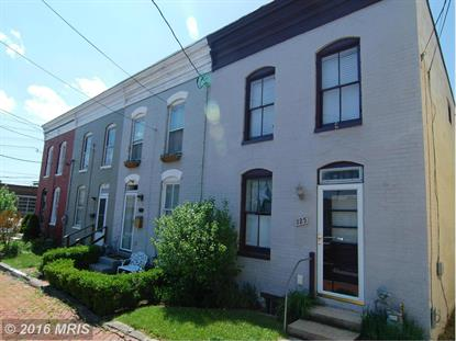 125 WATER ST Frederick, MD MLS# FR9645055