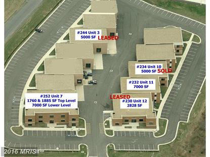 252 AIRPORT RD #G Winchester, VA 22602 MLS# FV8408428