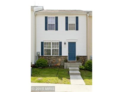 213 EASTSIDE LN Winchester, VA MLS# FV8624817