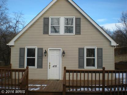 478 ROUND HILL RD Winchester, VA 22602 MLS# FV9546115