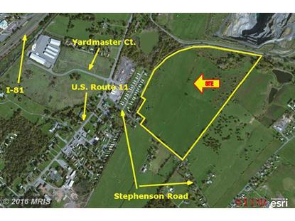 0 STEPHENSON RD Stephenson, VA MLS# FV9562702
